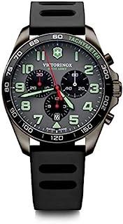Victorinox - Hombre FieldForce Sport Chronograph - Reloj de Acero Inoxidable de Cuarzo analógico de fabricación Suiza 241891