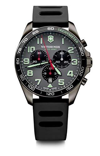 Victorinox Hombre FieldForce Sport Chronograph - Reloj de Acero Inoxidable de Cuarzo analógico de fabricación Suiza 241891
