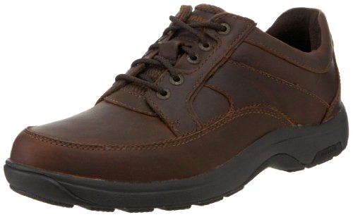 Dunham Men's Midland Oxford, Brown-10 4E US