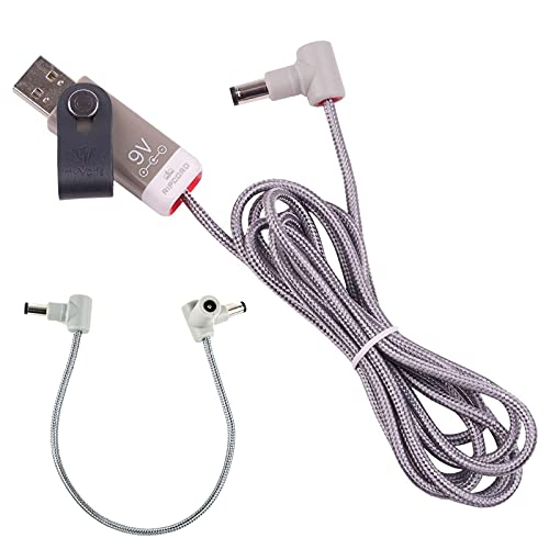 myVolts Ripcord - USB to 9V DC Power Cable Compatible with The Xotic SL Drive Effects Pedal
