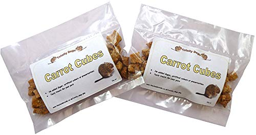 Good Degu Carrot Cubes- Degu treats 2-pack