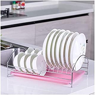 HSWJ Cuisine Porte-Bagages, égouttoirs, Drain Porte-Bagages, Accessoires de Cuisine, Casiers, Baies de Stockage (Color : P...