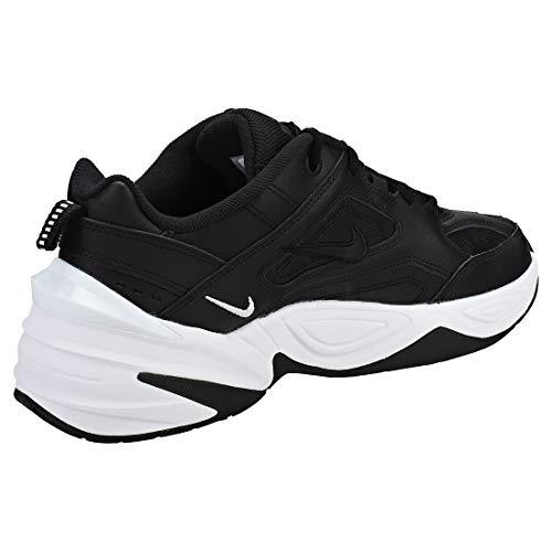 Nike W M2K Tekno, Zapatillas de Gimnasia Mujer, Negro (Black/Black/White 005), 39 EU