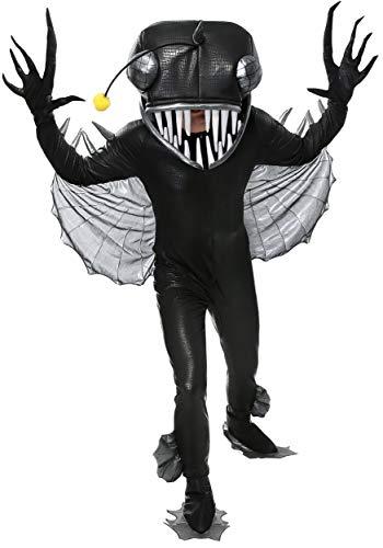 Fun Costumes Angler Fisch Kostüm für Erwachsene - XL
