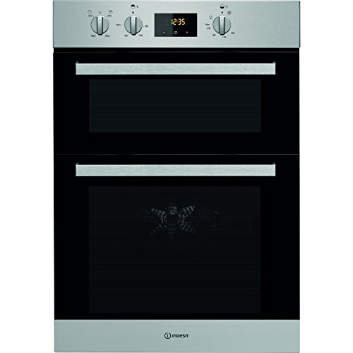 INDESIT IDD6340IX Aria Electric Built In Double Oven - Stainless Steel