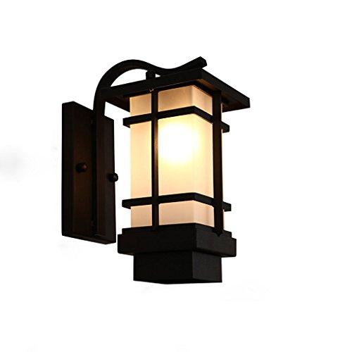 LRW Retro Chinese buitenwandlamp buitenverlichting waterdichte gang eenvoudige balkon wandlamp
