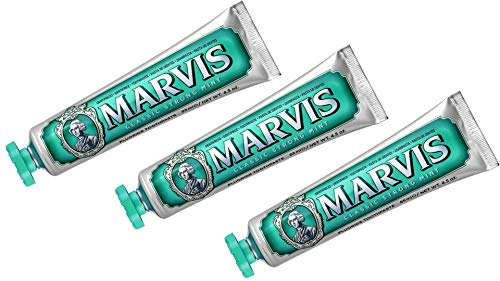 Marvis Zahncreme Classic Strong Mint 85ml, 3er Pack (3x 85ml)
