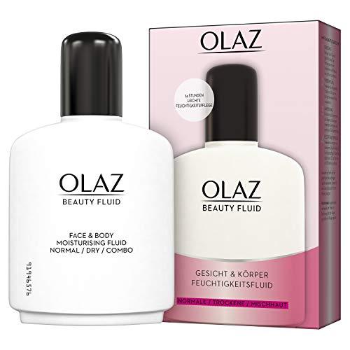 Olaz Beauty Feuchtigkeitsfluid Gesicht & Körper, Normale Trockene Mischhaut, 200ml