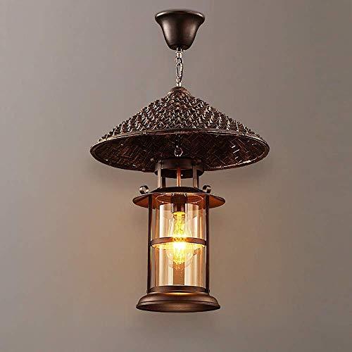Retro kroonluchter met ledverlichting, van ijzer, ijzer, slaapkamer, woonkamer, eetkamer, studio, plafondlamp, hanglamp, elegant.
