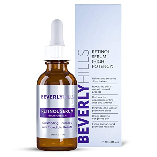 Beverly Hills Retinol High Potency Serum for Clear, Smooth, and Firm Skin 30mL