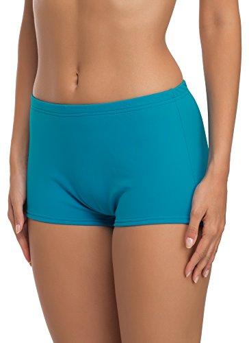 Merry Style Damen Badeshorts Bikinihose Modell L23L1 (Türkis (7064), 48)