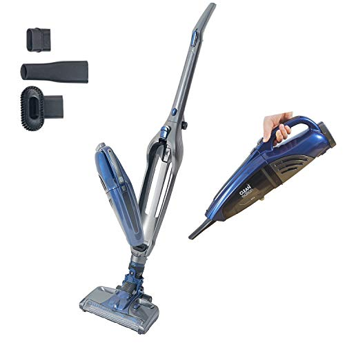 Cordless Vacuum Cleaner CLEAN Edition for Hard FloorCarpetPet Hair 2 in 1 Cordless Stick Vacuum, Powerful Suction, High-Power 22.2V/2000mAh Li-ion Rechargeable Battery