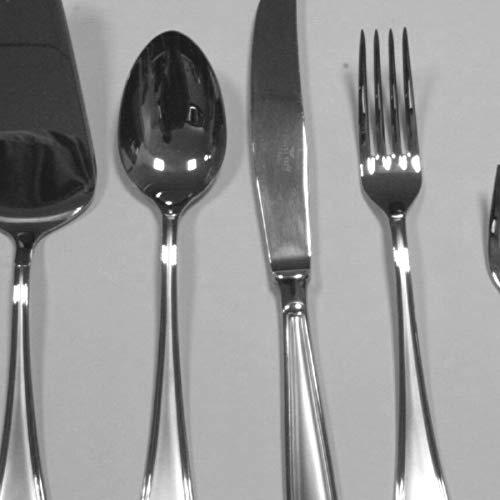 Pinti Lot de 6 Couteaux en Acier Inoxydable avec Manche et câble pour ustensiles de Cuisine