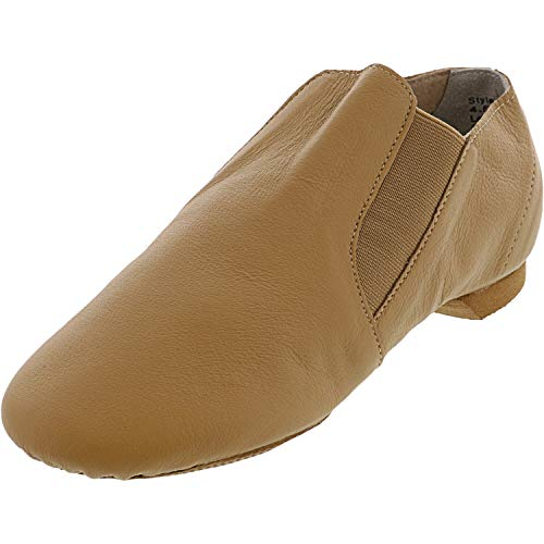 Theatricals Women's Jazz Boot T7602 Ankle-High Leather Slip-On Shoes