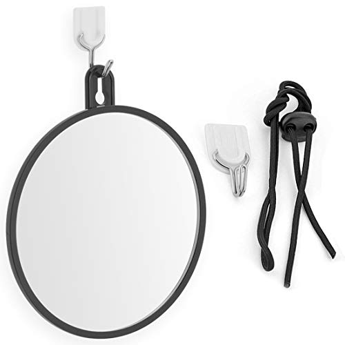 Mirrorvana Non-Fogless Hangable Shower Mirror