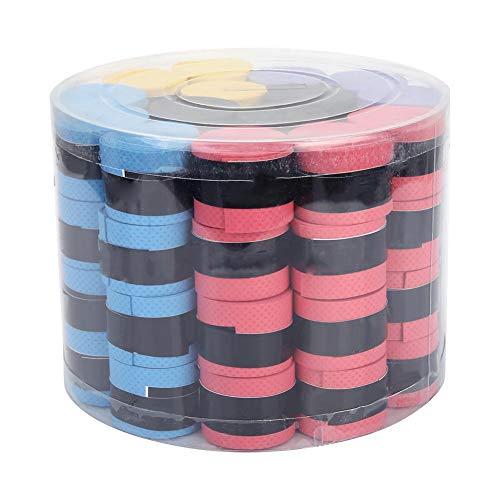 Lsaardth Anti-Rutsch-Schweißbänder-60Pcs PU Anti-Rutsch-Schweißbänder Tape Sportausrüstung für Angelruten Badminton Tennisschläger