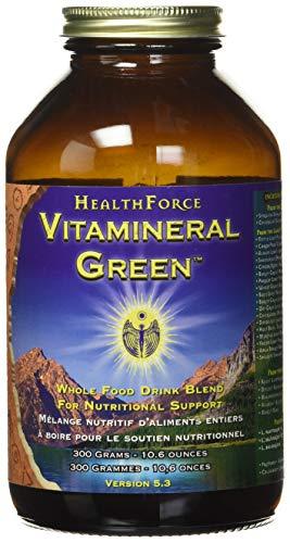 HealthForce Nutritionals, Vitamineral Green, Version 5.3, 10.6 oz (300 g)