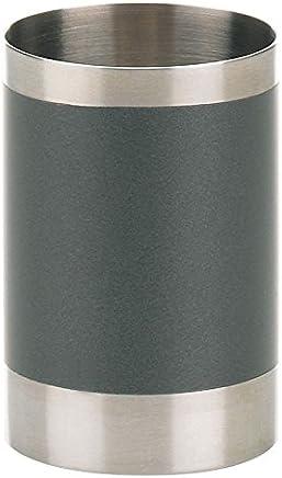Preisvergleich für kela Becher Lava aus Edelstahl in Silber 6.5 x 6.5 x 9.5 cm