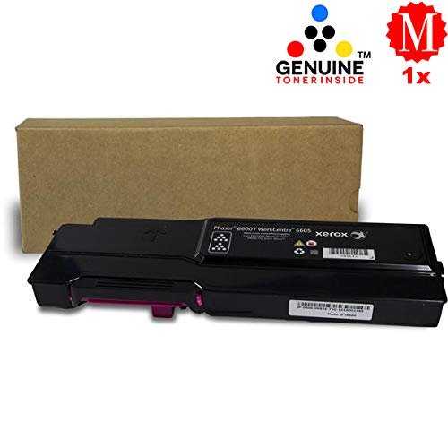 Professor Color Recoded Toner Cartridge Replacement for Xerox Phaser 6600 and Xerox WorkCentre 6605 High Capacity Magenta 106R02226