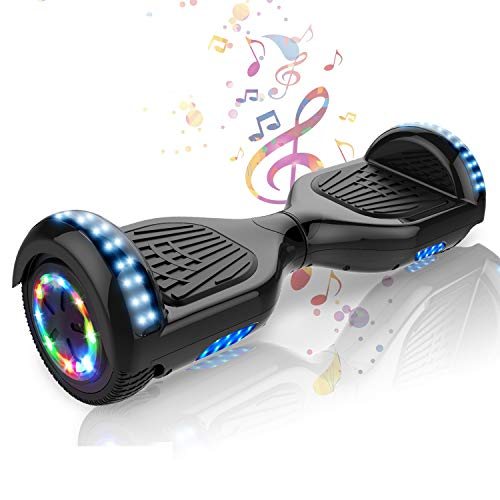 COLORWAY Self Balancing Scooter 6.5 inch - Electric Scooter - Hoverboard-Bluetooth Speaker LED lights Segway Gift