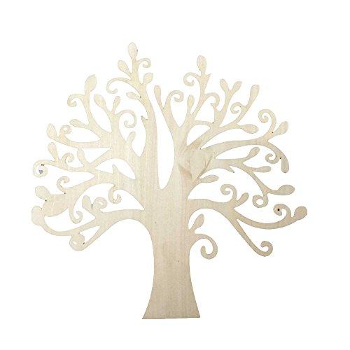 10 Holz Mdf Klarbaumformen Hochzeit Handwerk 12,5 Cm Hoch