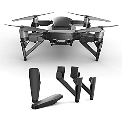 PENIVO 4pcs Landing Gear Leg Set ,Heighten Extended Landing Gear Protector for DJI Mavic Air Drone Accessories