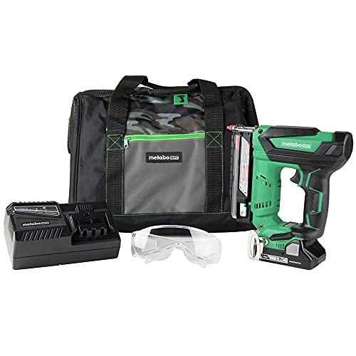 Metabo HPT 18V Cordless Pin Nailer, Tool Only - No Battery, 5/8-Inch up to 1-3/8-Inch Pin Nails, 23-Gauge, Holds 120 Nails, Lifetime Tool Warranty (NP18DSALQ4)
