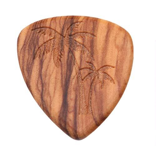 1PCS Solid Wood Picks Plectrum Guitars Picks High-end Picks Fingerpicks Musical Instrument Guitar Accessories