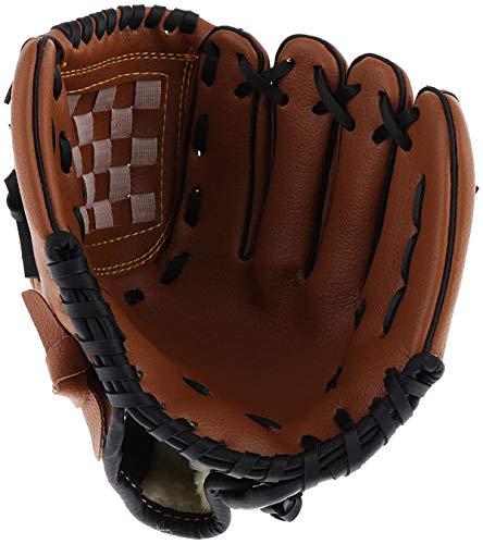 Acidea Sport & Outdoor Baseballhandschuhe Batting Handschuhe Verdicken Dauerhaft Softballhandschuhe Komfortabel Baseball Glove linken Sporthandschuh für Kinder Teenager– 12,5 Zoll