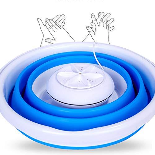 Portable Ultraschall Turbine Waschmaschine faltbare Eimer Typ USB Wäsche Kleidung Waschmaschine Reiniger für Home Reise