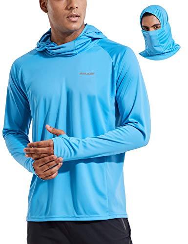 BALEAF UPF 50+ Fishing Shirts for Men's Long Sleeve Sun Protection Hiking...