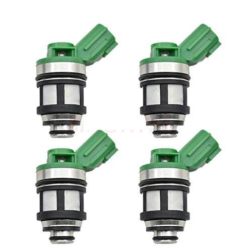 4PCS Kraftstoffeinspritzdüse-Düsen-16600-1S700 JS4D-5 JS4D2 for Nis-san Frontier Pickup Xterra 2.4L KA24DE Pickup KA24E