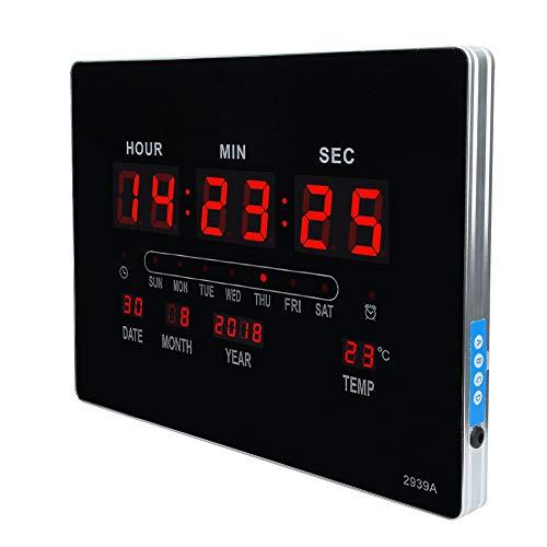 Reloj, aleación de aluminio y ABS HUMED MUJERS Pantalla 40.5x30.3x3cm Reloj de silencio
