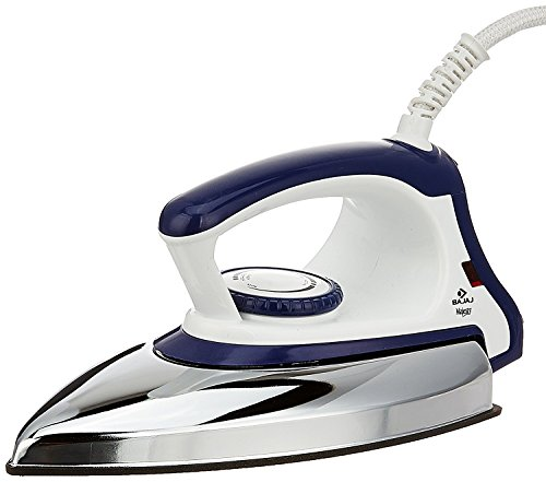 Bajaj Majesty DX 11 6 W Stainless Steel Lightweight Automatic Dry Iron...