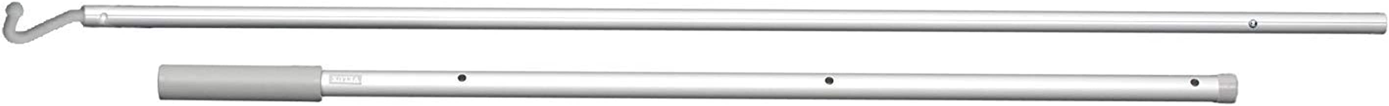 VELUX ZXT 200 Skylight 3-6 Ft. Telescoping 7-Hook Control Rod for Manually Operated Skylight Blinds