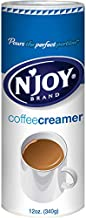 N'Joy Non-Dairy Coffee Creamer  12 Ounce, Pack of 6   Dairy Substitute   Easy Pour Lid, Bulk Size