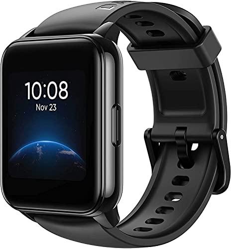 DIZO Smartwatch Reloj Inteligente con 100 Esfera Personalizada, Monitor de Sueño, Contador de Caloría Podómetro Cronómetros ,Monitor de Cardíaca,90 Modos Deportivos Hombre Mujer para iOS Android