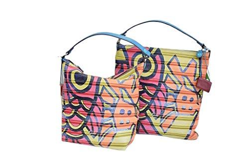 GABS Bolso mujer bolso de hombro de piel con correa ajustable Sofa estampados