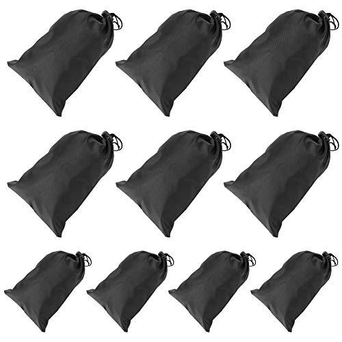 Rehomy 10 bolsas de transporte portátil con cordón impermeable para guardar cuerdas de saltar