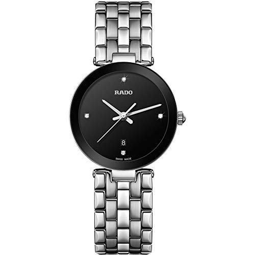 Rado Damen-Armbanduhr Diamant Armband Edelstahl Saphirglas Batterie R48908713