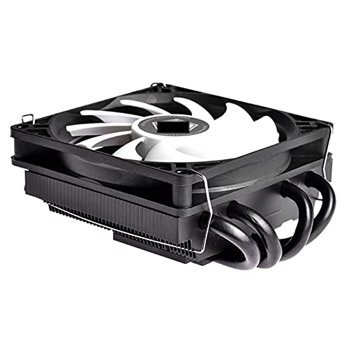 HIST-40X V3 Pro CPU Refrigerador con Ventilador de enfriamiento PWM silencioso 4 Contacto Directo HEATPIPES Ultra Slim CPU Aire Cooler para Mini ITX