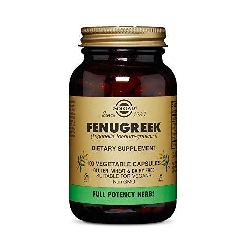 Solgar Fenogreco Cápsulas vegetales - Envase de 100