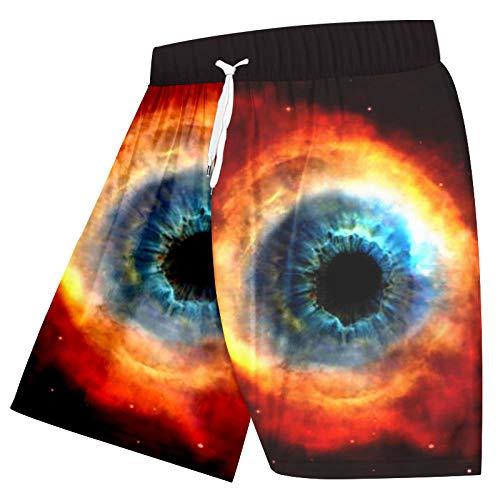 Short Homme Shorts Hommes 3D Arc-en-Ciel Étoiles Espace Imprimé Short De Plage Hip Hop Streetwear Entraînement Décontracté Shorts-Rainbow_Star_Space_XL