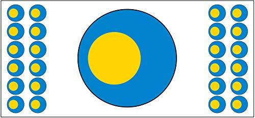 Palau-Flagge Banner – Poster – Party-Dekoration – Feier – Event – Weltmeisterschaft (2 Stück)