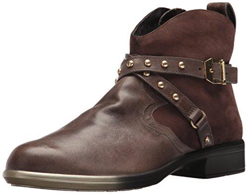 Naot Women's Taku Ankle Boot, Vintage Fog Leather/Coffee Bean Nubuck,...