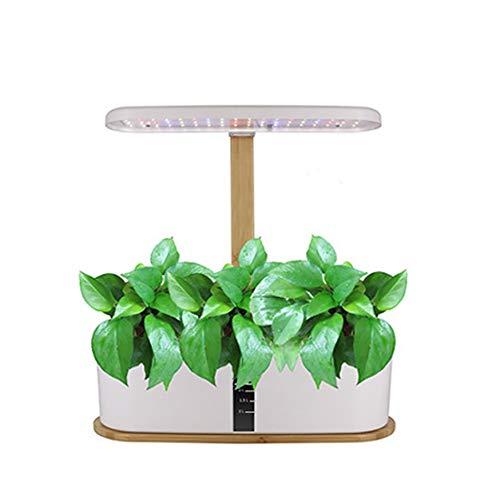 ZDYLM-Y Hidroponía en Crecimiento del Sistema, Full Spectrum Diseño Temporizador Garden, luz de Relleno Inteligente Ajustable en Altura para la Cocina del hogar
