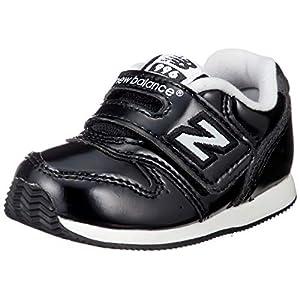 [ニューバランス] ベビーシューズ FS996/IV996(旧モデル) 12~16.5cm 運動靴 通学履き 男の子 女の子 25_エナメルブラック(GBK) 12 cm