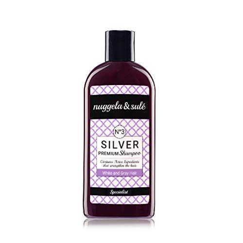 Nuggela & Sulé Champú Nº3 Silver para cabellos canosos - 250ml