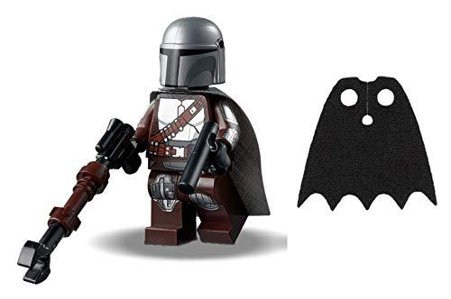 LEGO Star Wars: The Mandalorian - Mando - Din Djarin with Silver Beskar Armor and Bonus Black Cape