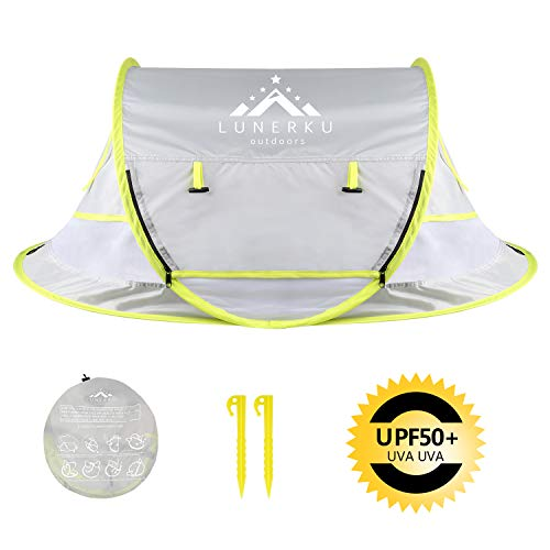 Baby Beach Tent, Pop Up Portable UV Protection Sun Shelter for Infant Mosquito